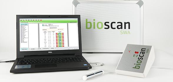 Bioscan SWA  - scannen statt Labor